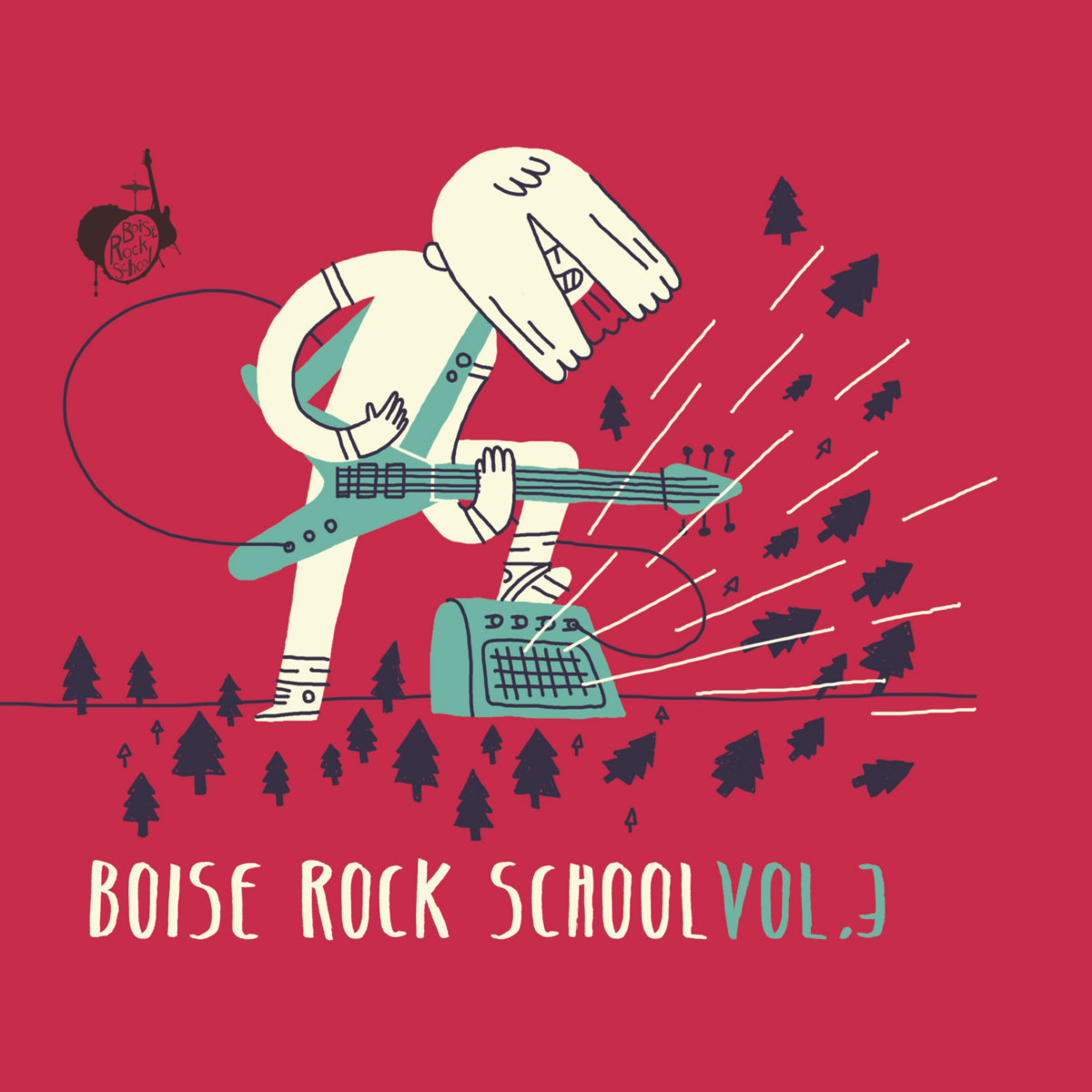 Boise Rock School Volume Three Cover Photo
