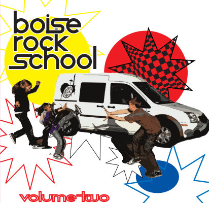 Boise Rock School Volume Two Album Cover